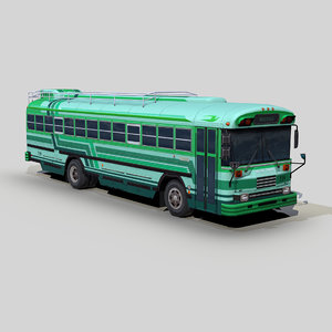 blue bird tc2000 coach bus model