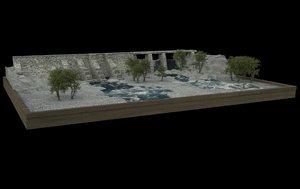 3D ibn al-haytham dams model