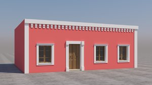 3D mexican house games model