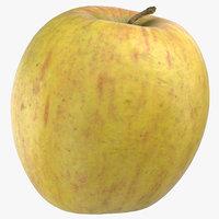 3D ambrosia apple 03