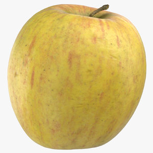3D ambrosia apple 03