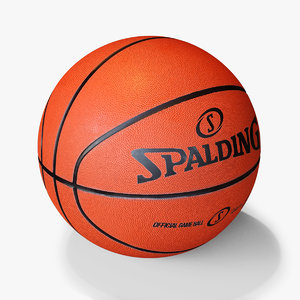 3D basketball ball model