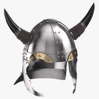3D viking helmet 02