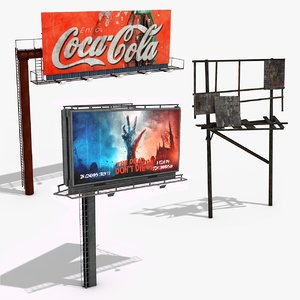 billboards ready games model