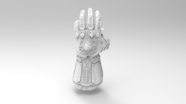 infinity gauntlet - thanos 3D
