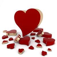 heart symbol love 3D