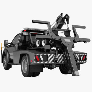 3D towing vehicle