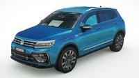 3D volkswagen tiguan 2019