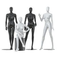 Four faceless female mannequins 25