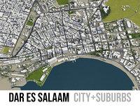 3D city dar es salaam model