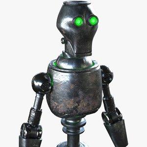 3D robot flex model
