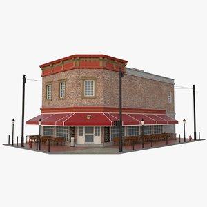 building pub 3D