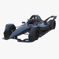electric racing car model