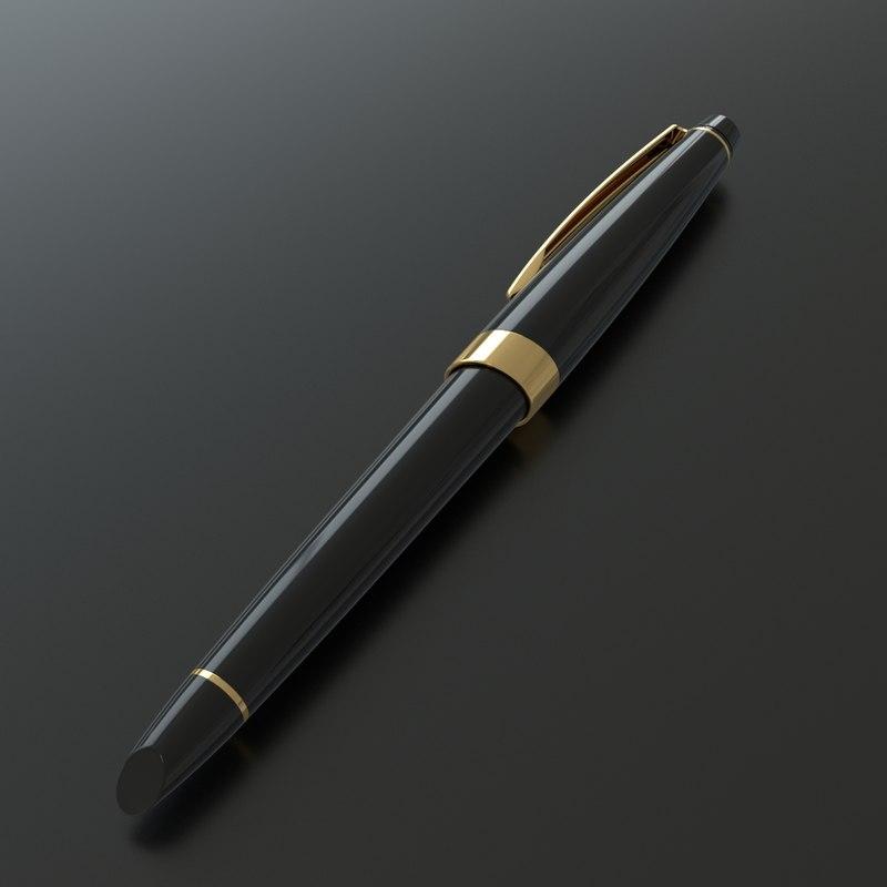 luxury fountain pen model