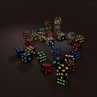colors dice model