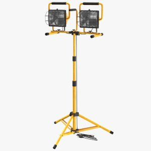 real mobile construction light 3D