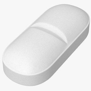 3D pill medication antibiotic