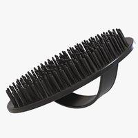 shampoo brush hair scalp 3D model