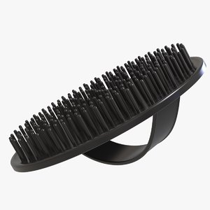 shampoo brush hair scalp 3D model