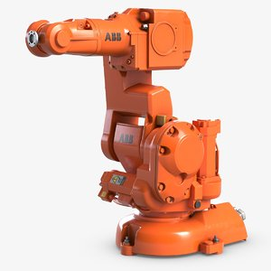 3D industrial robot arm abb