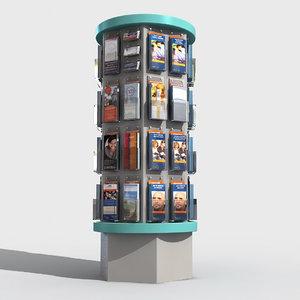 flyers rack 3D