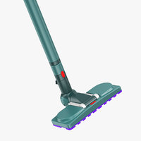 vacuum cleaner brush cleaning 3D model
