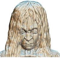 stl bas-relief samara 3D model