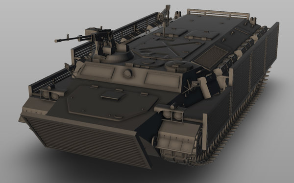 mt-lb bronirovanny vehicle model