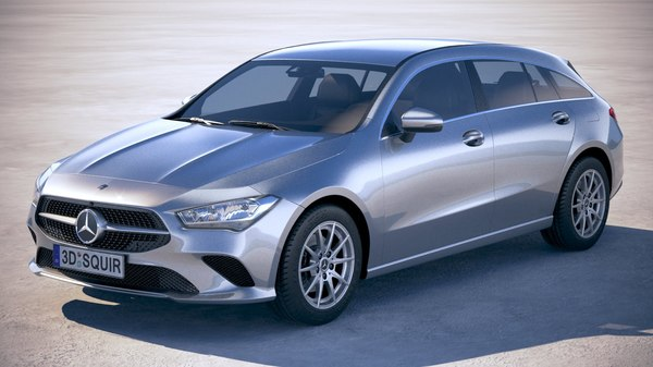mercedes-benz cla shooting 3D