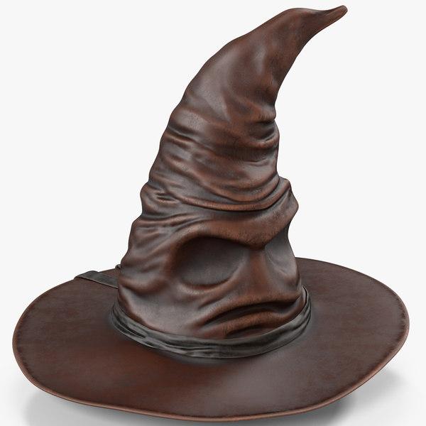 halloween hat 3D model