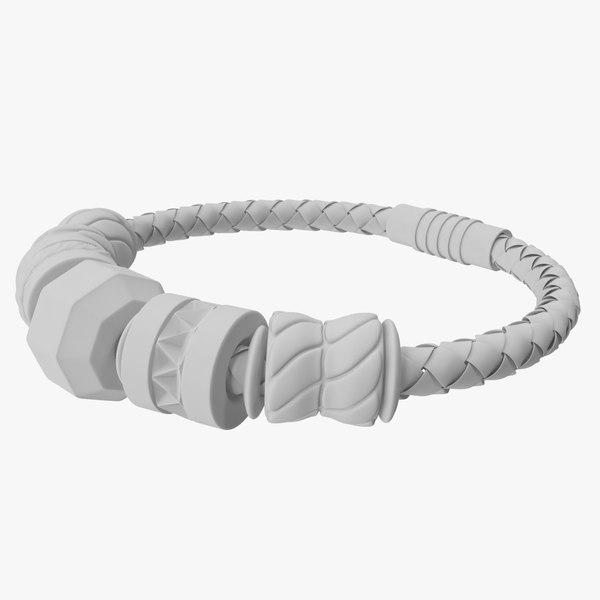jewelry bracelet charm model