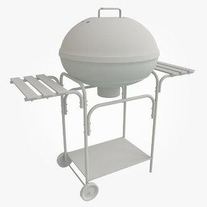 3D bbq grill