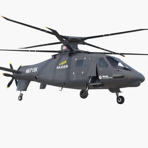 sikorsky s97 raider 3D model