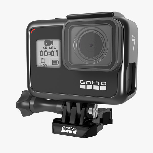 3D gopro hero 7 black