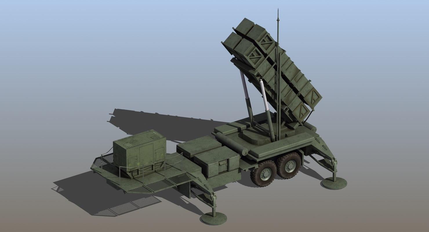 mim-104 patriot missile model