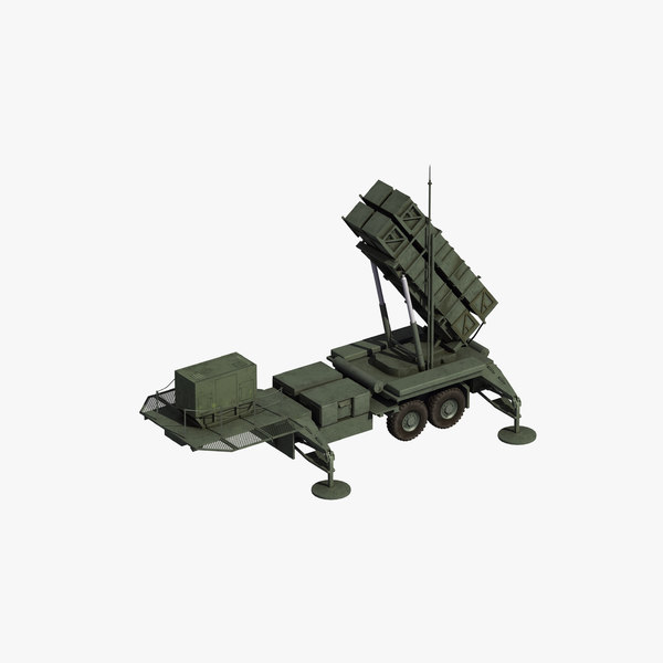 mim-104 patriot missile model