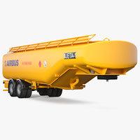 3D model refueling tank fuel