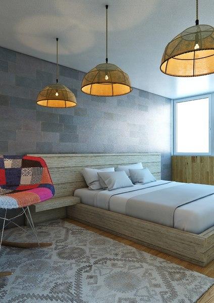 3D bedroom v3