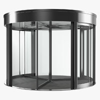 revolving door systems 3D