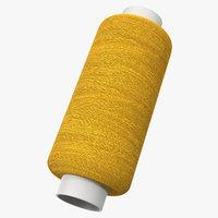 sewing thread 3D model