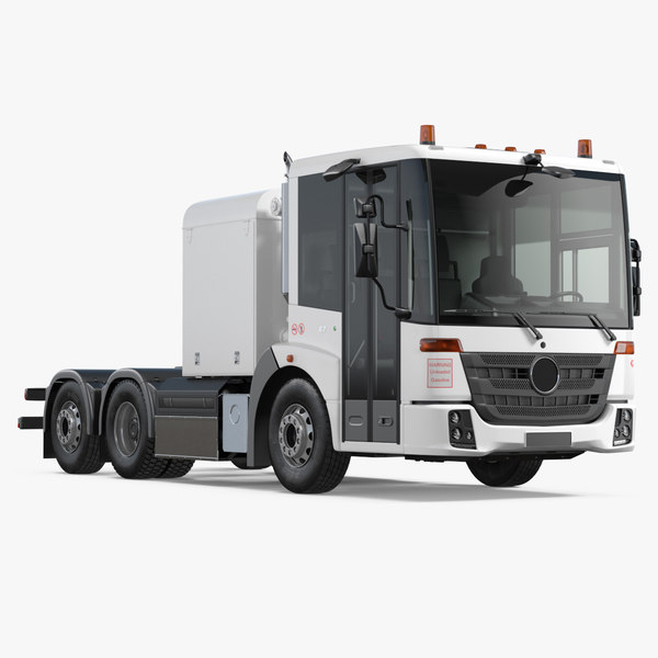 3D tractor truck 6x4 generic model
