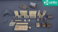 Medieval Props - Mega Pack Low-poly 3D model Low-poly 3D model