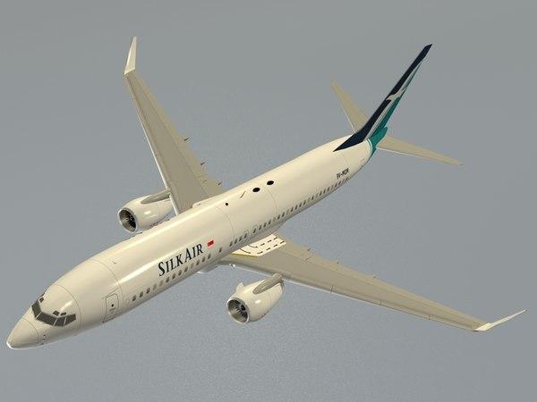 Boeing 737-800 SilkAir
