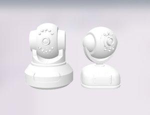 3D 2 ip cams model