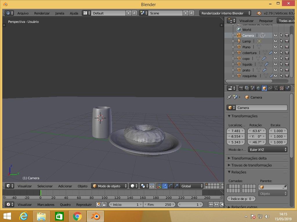 3D blender the