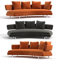 sofa b italia 3D