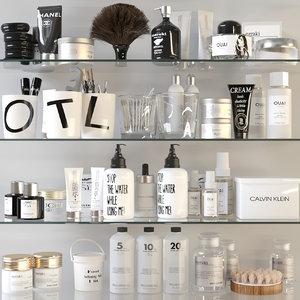 3D model cosmetics