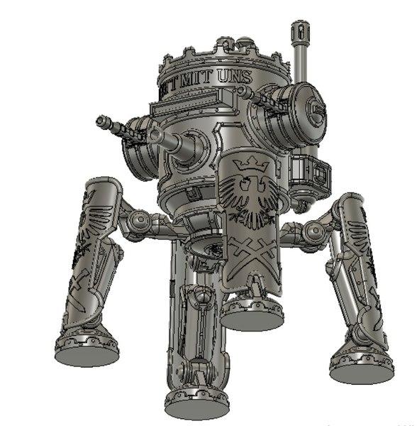 3D robot iron harvest