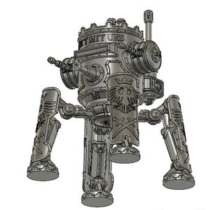 3D robot iron harvest