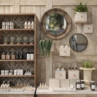 3D mirror cosmetics